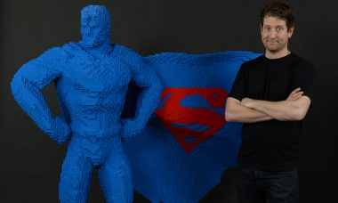 Artist Recreates Iconic DC Comics Characters and Vehicles as Life-Size LEGO Statues