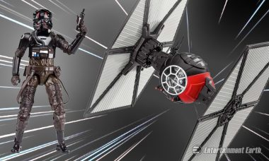 Make the Jump to Lightspeed with the Star Wars Deluxe First Order TIE Fighter