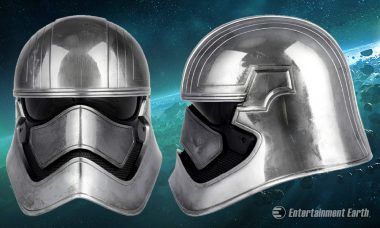 Captain Phasma Helmet Is Shining Addition to Anovos Premier Line