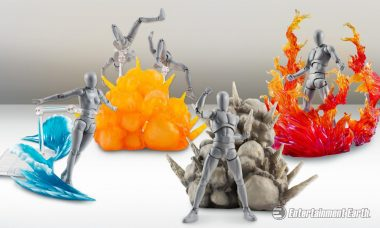 "Put the ""Action"" in Action Figures with Explosive Effect Accessories"