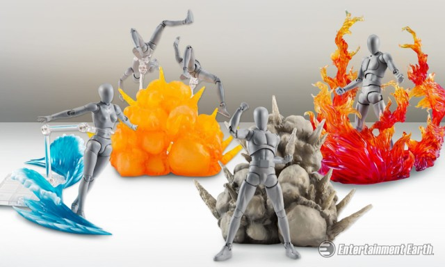 Put The Quot Action Quot In Action Figures With Explosive Effect