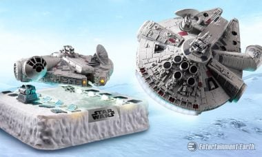 Actual Floating Star Wars Millennium Falcon Is Coming to a Galaxy Near You