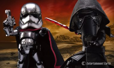 Captain Phasma and Kylo Ren Command Attention as New Egg Attack Figures
