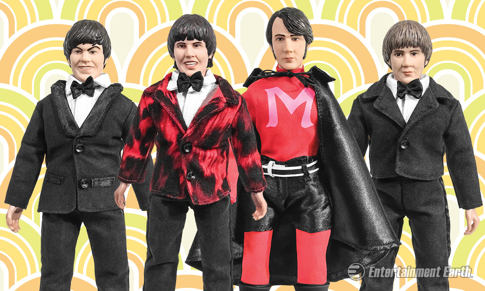 Become A Believer With The Monkees Retro Action Figures