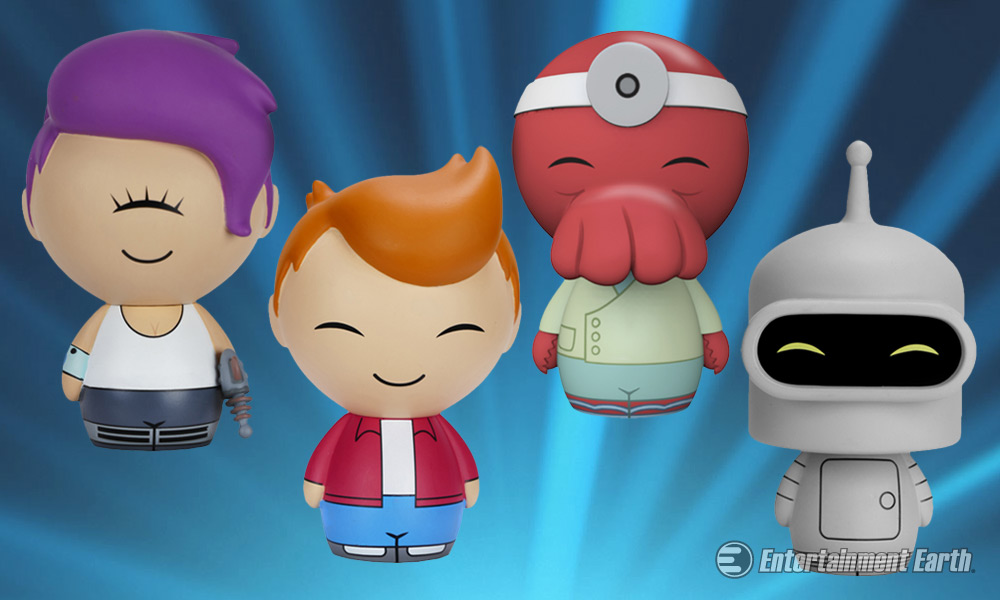 Jump Into The Future With Funko S Futurama Dorbz Vinyl Figures