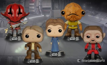 Star Wars TFA Pop! Vinyls Wave 2