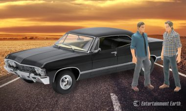 Get Rolling with This Supernatural Die-Cast Metal Vehicle and Action Figure Set