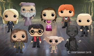 New Wave of Harry Potter Pop! Vinyls Includes a Godfather, House Elf, and Yule Ball