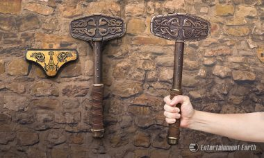 Wield the Power of a Norse God with Historical Replica of Thor's Hammer
