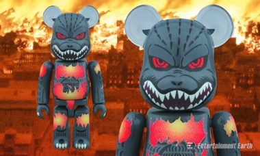 The New Godzilla Desgodzi Bearbrick Figure Is Literally On Fire
