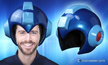 Become a Super Fighting Robot with This Wearable Mega Man Helmet Prop Replica