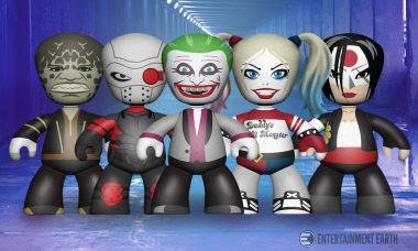 The Suicide Squad Shines as Maniacal Mini-Figures from Mezco
