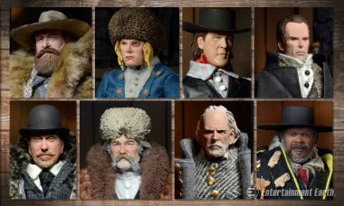 Lay Down the Law with This Awesomely Detailed Hateful Eight Action Figure Set