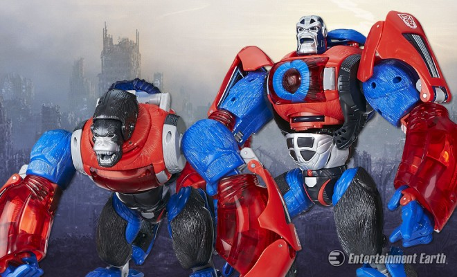 Transformers Platinum Edition Optimus Primal en Stock