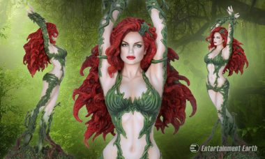Leave Your Fellow Collectors Green with Envy with This Poison Ivy Fantasy Figure Statue