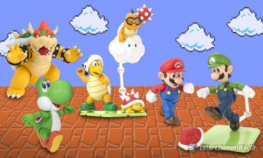 Find the Princess in the Castle with Super Mario SH Figuarts Action Figures and Sets
