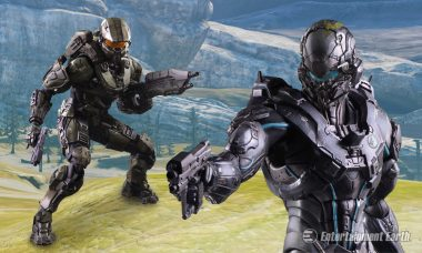 Suit Up for Battle with New Halo 5 Play Arts Kai Action Figures