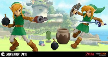 The Legend of Zelda: A Link Between Worlds Gets More Exciting with These Figma Action Figures
