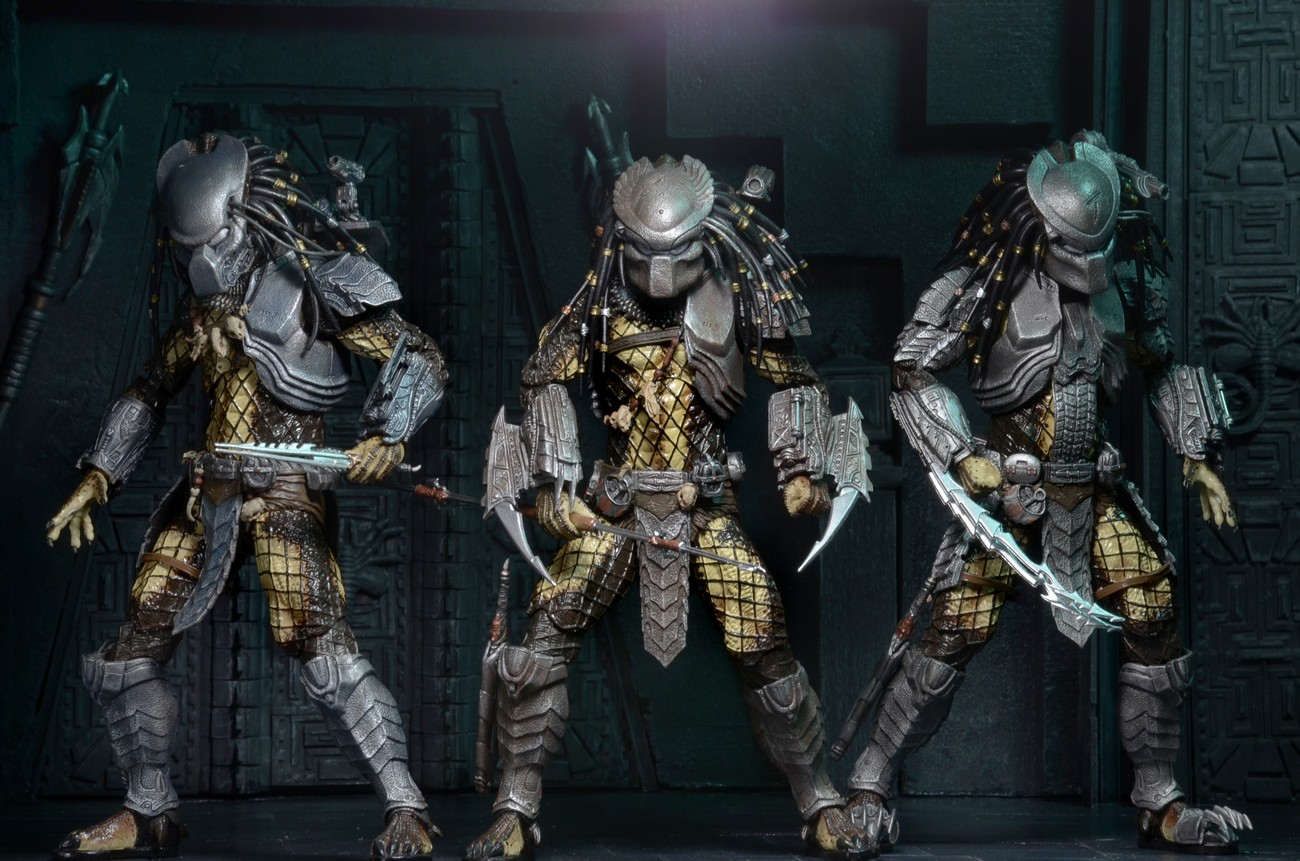 Predator Series 15 Action Figure Set