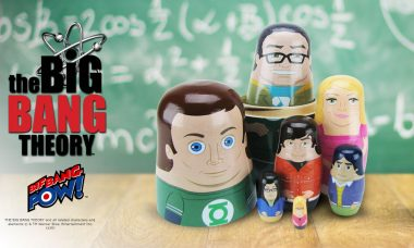 THE BIG BANG THEORY™ Characters in Nesting Doll Form, Now That's Intelligent