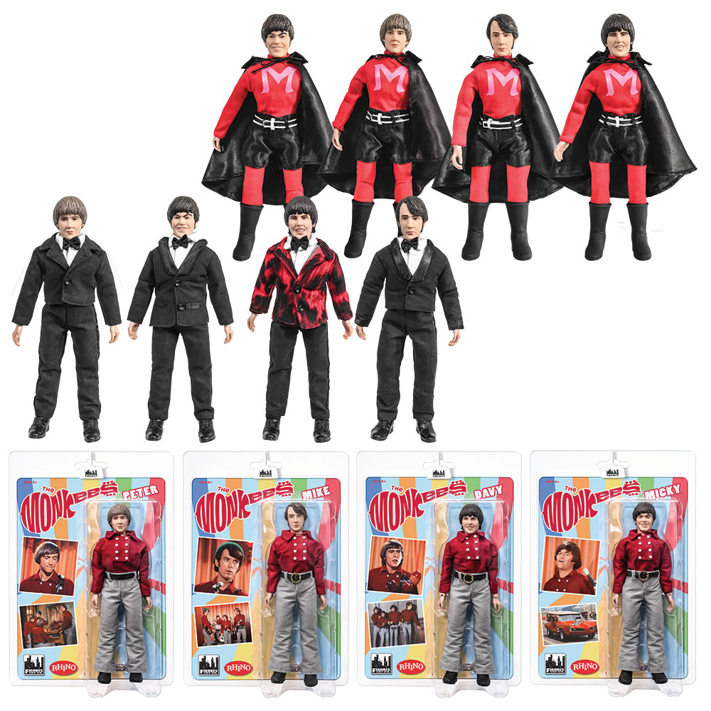 The Monkees 8 Inch Figures