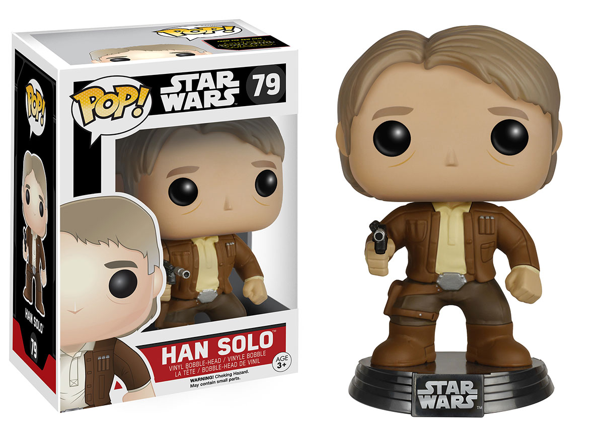 Funko S Second Wave Of Force Awakens Pop Vinyls Include
