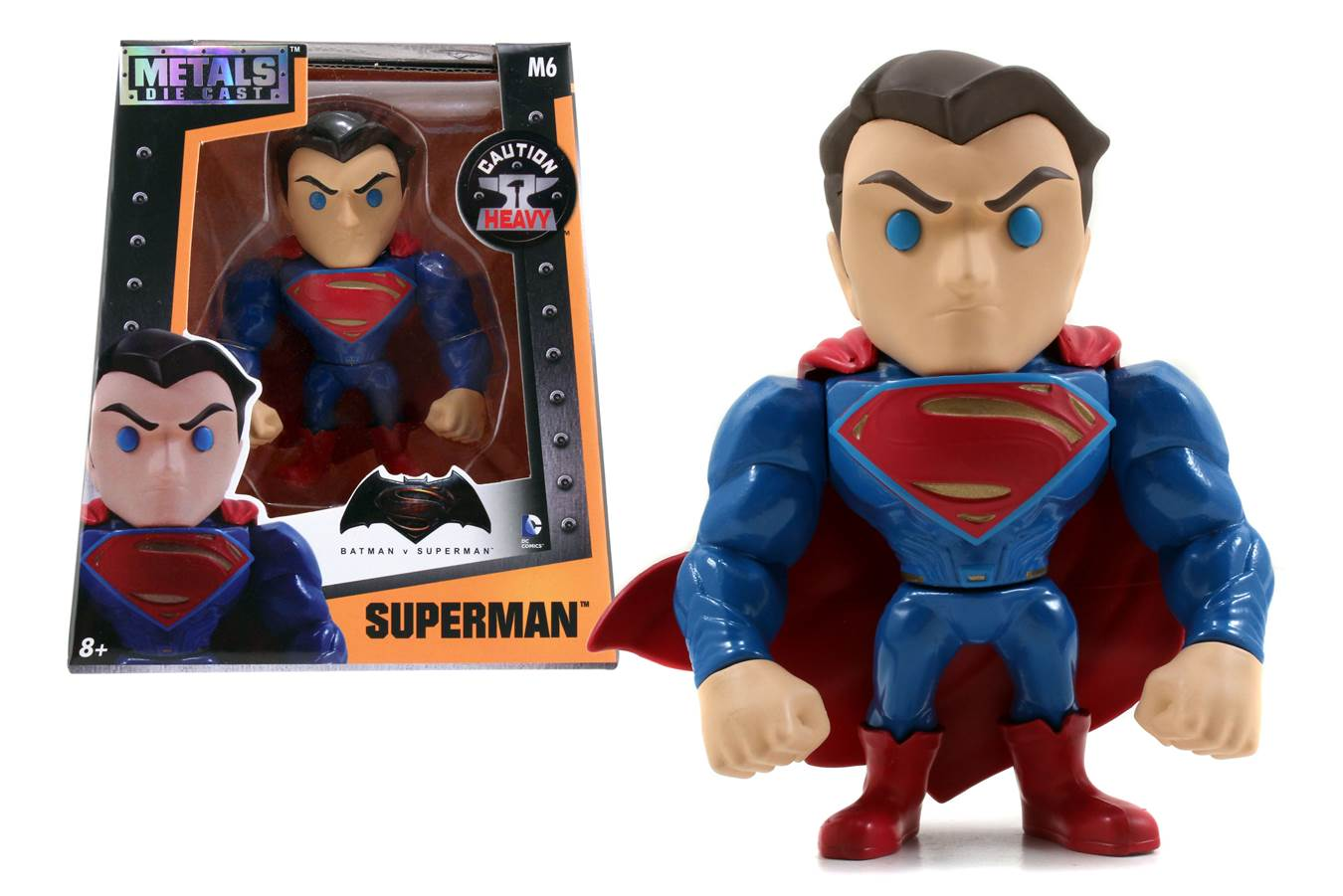 Batman v Superman: Dawn of Justice Superman 4-Inch Die-Cast Action Figure