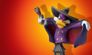 Get Dangerous with the Darkwing Duck Grand Jester Mini-Bust