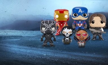 Choose Your Side with Captain America: Civil War Vinyl Figures