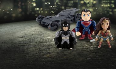 New Batman v Superman Die-Cast Metal Action Figures Are Utterly Amazing