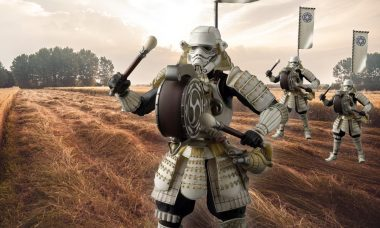 March to a Different Tune with This Samurai Stormtrooper
