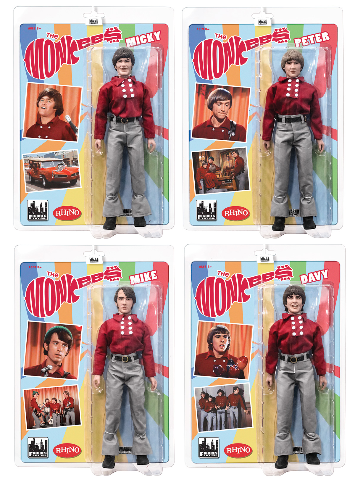 The Monkees 12 Inch Figures
