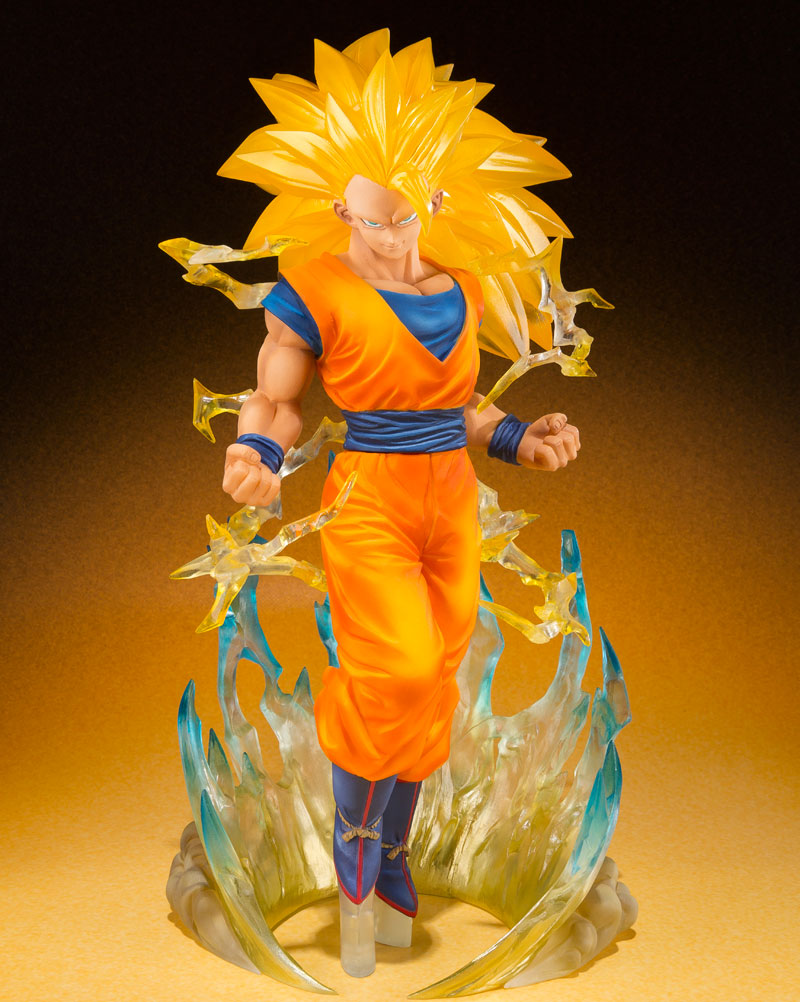 Dragon Ball Z Son Goku Super Saiyan 3 Version Figuarts Zero Statue