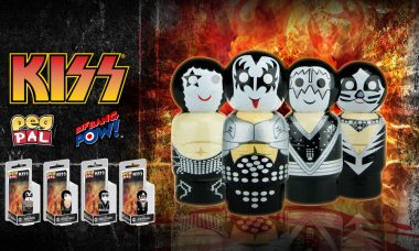 Shout It Out Loud: KISS Destroyer Pin Mate™ Figures Are Now in Stock!