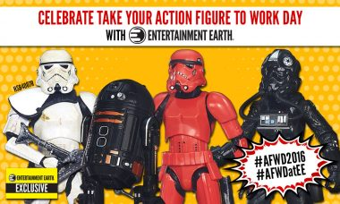 Win Great Prizes with Our Action Figure Work Day 2016 Contests