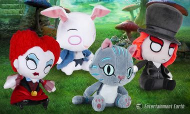 We're All Mad for Alice Through the Looking Glass Mopeez Plush