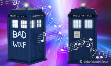 Wireless Doctor Who TARDIS Speaker Gets the Bad Wolf Treatment