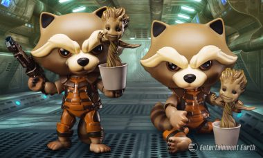 Ain't No Thing Like Rocket and Groot, Except This Egg Attack Figure