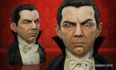 Dracula Returns as This Life-Sized Bust Modeled on the Late, Great Lugosi