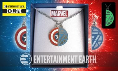 Exclusive Civil War Necklaces Are Perfect for #TeamCap and #TeamIronMan Fans