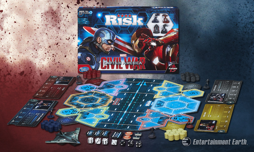 risk and marvel Risk is a strategy board game of diplomacy, conflict and conquest for two to six players the standard version is played on a board depicting a political map of the earth,  risk: marvel cinematic universe (2015) risk: transformers decepticon invasion of earth (2015) uk exclusive.