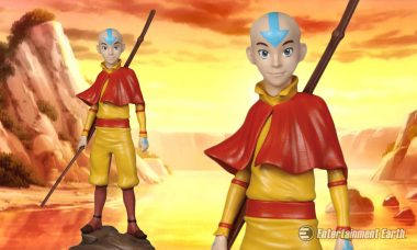 Aang Statue Will Help Your Collection Enter the Avatar State