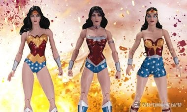 What's Better than One Amazonian Princess? This Wonder Woman Action Figure 3-Pack!