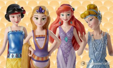 Disney Princesses Are Ready for a Fashionable Ball as Art Deco Statues