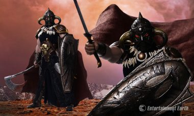 Frank Frazetta's Death Dealer Rides on As Collectible Action Figure