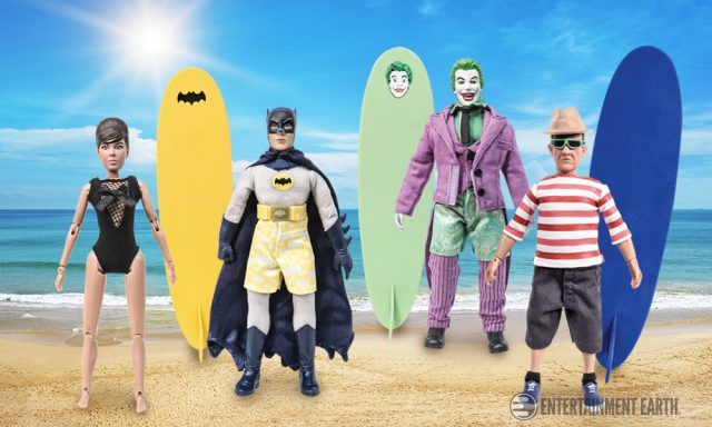 Batman Surfing Figures