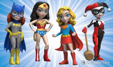 Funko Launches a New Line of Vinyl Figures as DC Comics Rock Candy Figures