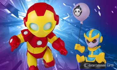 Little Iron Man and Thanos Make Big Impacts as New Skottie Young-Inspired Statues