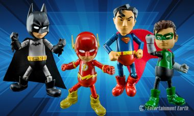 Let The Justice League Illuminate Your Collection With These Light Up Mini-Figures