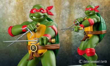 Hot-Tempered Teenage Mutant Ninja Turtle Becomes Third Ikon Collectibles Statue